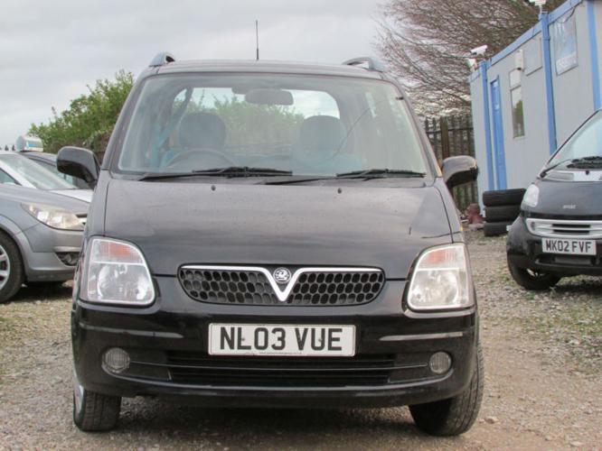 Vauxhall/Opel Agila 1.2i 16v 2003MY Design