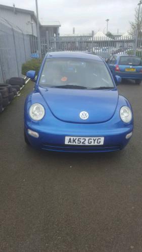 've beetle 1.6 drives a1