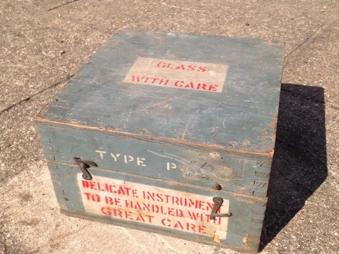 Vintage box , old box , small box ,