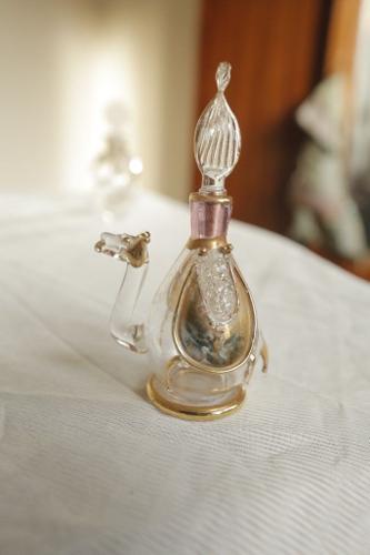 Vintage Camel Perfume Bottle