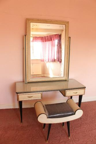 Vintage UMBERTO MASCAGNI Dressing Table with Mirror and