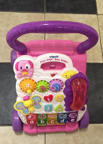 VTech First Steps Baby Walker - Pink. EXCELLENT. Sound