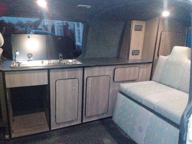 VW t5 T30 104bhp transporter camper campervan with