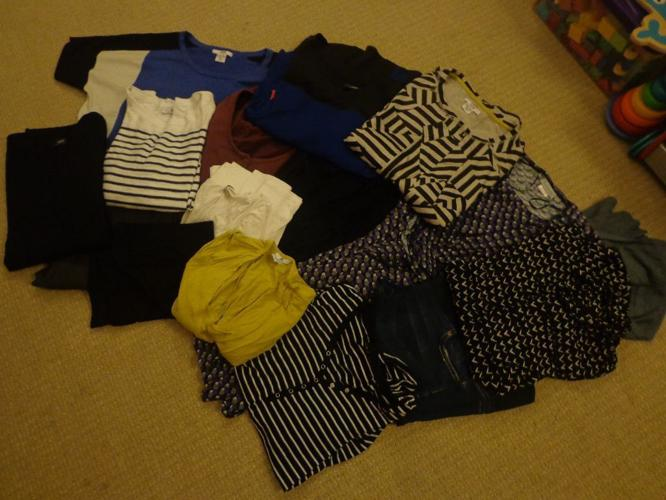 Wardrobe worth of Autumn and Winter maternity clothes