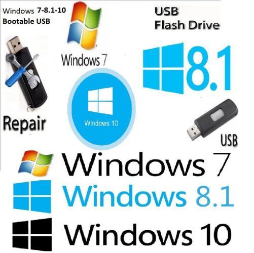 Windows 7- 8.1-10 x32Bit & x64Bit Operating System