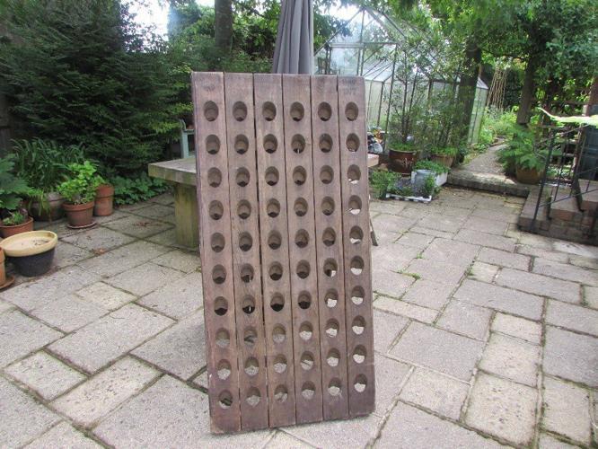 Wine Rack/Riddling Rack - Solid Oak