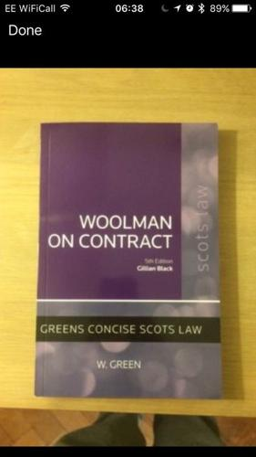 Woolman on Contract