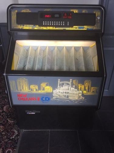 Wurlitzer New Orleans juke box