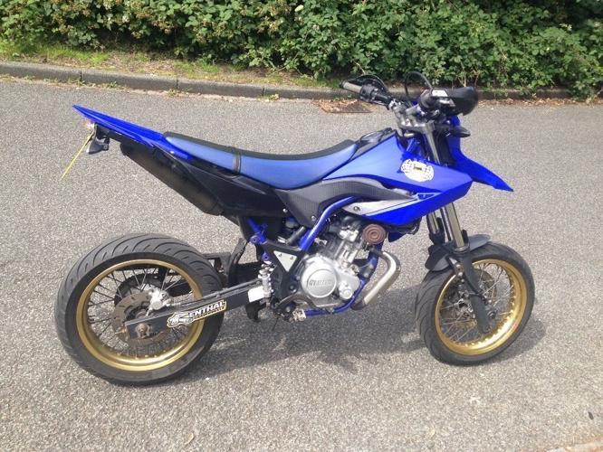 Yamaha WR125X 125cc Learner Legal 2010 18000 miles