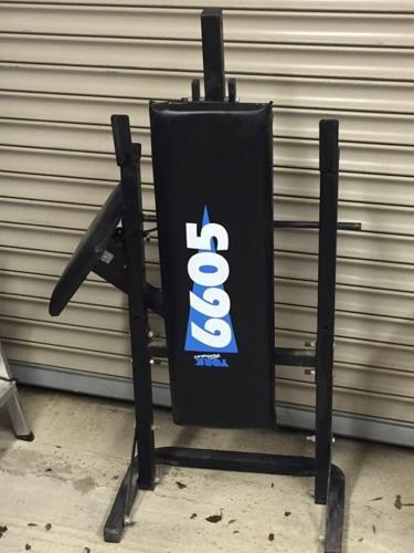 York 6605 weight bench