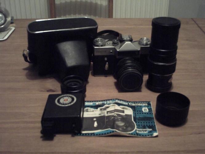 Zenith 35mm Reflex Camera