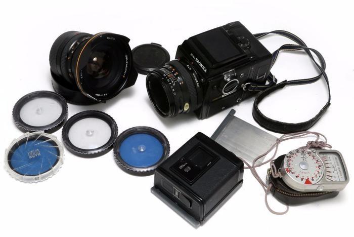 Zenza BRONICA SQ-A + ZENZANON PS 80mm + 40mm PS 40 mm