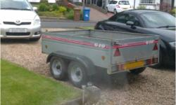 The Caddy 640T is designed and manufactured to meet and exceed the new EU type approval requirements for trailers. Caddy trailers are constructed in high quality galvanised pressed steel which ensures maximum corrosion resistance, the Caddy 640 trailer is