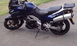 Suzuki V Strom DL 1000, Dark Met Blue 2003 (03) Full
