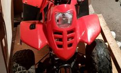 Selling our wee 110cc quad 3 forward gears Reverse
