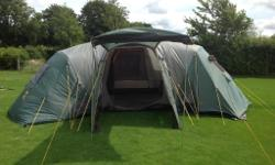 A 12 man Royal Montpellier tent. Used but in excellent
