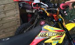 I am selling a 140cc and a 125cc pit bike, engines