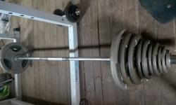 Hi This is my 146KG Olympic barbell set for sell. It is