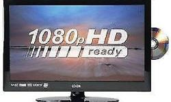 Excellent Condition 18.5 '' HD READY LCD LOGIK TV Comes