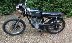 Motorbike Honda 1976 125cc Full MOT Pick up only from