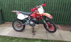 For sale/swap 1990 Honda CR500 New rear wheel and