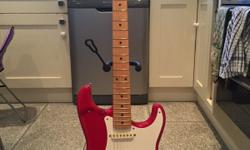 Rare beautiful made in Japan silver series fender