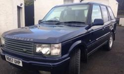 Fully loaded Range Rover Range Rover 4.6 vogue auto