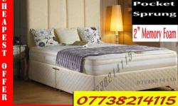 TOP QUALITY DIVAN BED In DOUBLE or KING SIZE