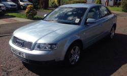 2002 AUDI A4 2.0 PETROL THIS IS A ABSOLUTELY EXCELLENT