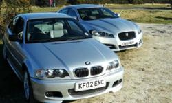 2002 BMW 330CI AUTO SILVER M SPORT EXTERIOR AND