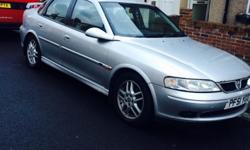 2002 Vauxhall Vectra 1.8 SRI, 145,000 miles, 8 Months