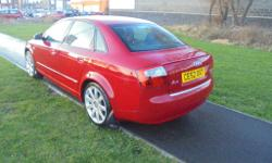 HERE WE HAVE FOR SALE A VERY NICE AUDI A4 S,LINE IN