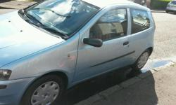 hi there selling fiat punto its a 2003 model. service