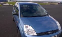 2003 Sept Ford Fiesta Zetec, 104k, Blue, good clean car