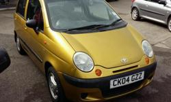 2004/04 plate Daewoo Matiz 1.0 petrol manual 5 door
