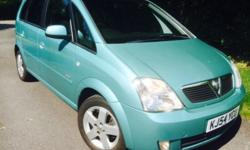 MERIVA 1.6 DESIGN 79k miles, full service history, just
