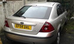 2004 FORD MONDEO TDCI DIESEL GHIA BREAKING FOR SPARES.