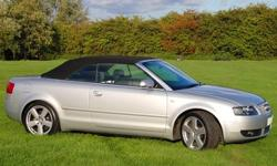 Audi A4 Convertiable/ Cabriolet in great condition in