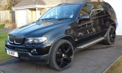 BMW X5 , 55 plate, 3.0 D, auto, 100k miles, full years