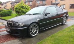Stunning BMW 330CD in metallic black This is a genuine