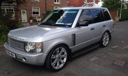 2005 Range rover vogue 3.0 td6 auto 113,000 miles with