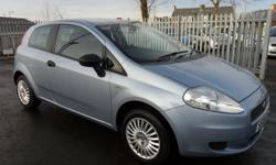 2006 06 reg Fiat Grande Punto 1.2 Active 3dr, Manual,
