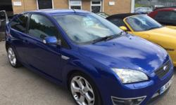 2006 Ford Focus ST-2 2.5 Turbo 222BHP in Blue Metallic