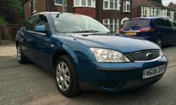 2006 FORD MONDEO 1.8,TWO OWNERS,76000 LOW GENUINE