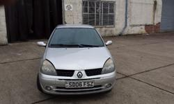 A good condition Renault Clio, 1.2 engine, 3 door