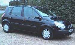 2006 Renault Scenic 1.6 Dynamique 5 Door MPV, Midnight