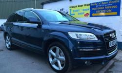 2007 Audi Q7 3.0 Diesel Auto Tiptronic 239 BHP finished
