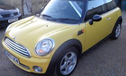 A clean example of a very nice Cooper Hatch in a