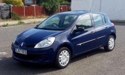 2007 RENAULT CLIO 1.5 DCI EXPRESSION DIESEL S/HISTORY,
