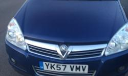 VAUXHALL ASTRA 2007 AUTOMATIC 1 YEARS MOT SERVICE